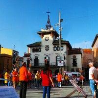 Photo taken at Sant Celoni by Laia V. on 6/23/2014