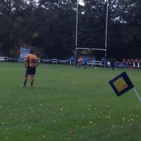 Photo taken at Henley Hawks Rugby Club by Nick M. on 10/20/2012