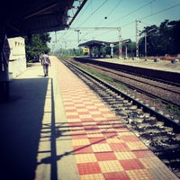 Photo taken at Tiruslam Railway Station by Rakesh A. on 11/2/2012