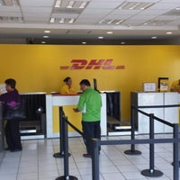 Photo taken at DHL Express by Elías G. on 10/30/2013