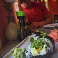 Photo taken at Benja Thai & Sushi by Kristie B. on 5/11/2015
