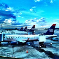 Photo taken at Charlotte Douglas International Airport (CLT) by Nic A. on 3/25/2012