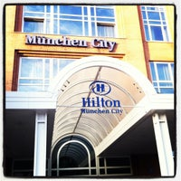 Photo taken at Hilton Munich City by Ali M. on 6/25/2012