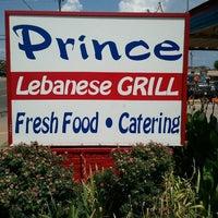 Photo taken at Prince Lebanese Grill by Cedar B. on 7/25/2011