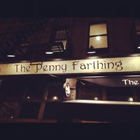 Photo taken at The Penny Farthing by annelise d. on 2/16/2012