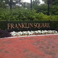 Photo taken at Franklin Square by Lynda on 7/21/2012