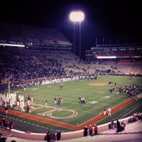 Photo taken at Frank Howard Field at Clemson Memorial Stadium by Erik S. on 12/3/2011