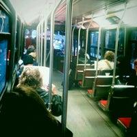 Photo taken at TTC Streetcar #504 King St by Radoslav R. on 10/26/2011