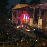 Photo taken at William Randolph Hearst Greek Theatre by Will B. on 9/11/2011