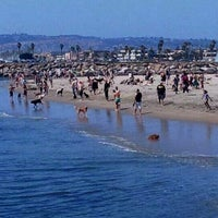 Photo taken at Ocean Beach Dog Beach by Michelle F. on 6/8/2012
