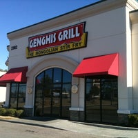 Photo taken at Genghis Grill by Chris W. on 1/2/2011