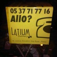 Photo taken at Latium by Marouane L. on 1/9/2012