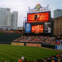 Photo taken at Oriole Park at Camden Yards by Melissa M. on 7/13/2012