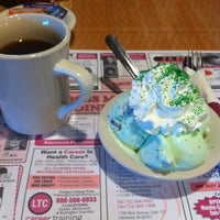 Photo taken at Crossmill Diner by Georgette on 3/18/2012