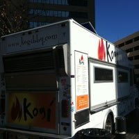 Photo taken at Kogi BBQ Truck by Jimmy N. on 1/4/2012