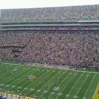Photo taken at Tiger Stadium by Shreya S. on 10/22/2011