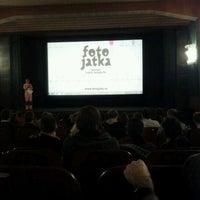Photo taken at Kino Aero by Olin V. on 3/30/2012