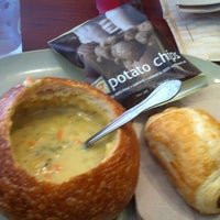 Photo taken at Panera Bread by Kirsten on 7/23/2012