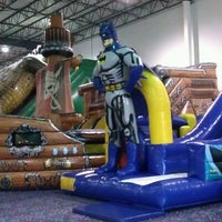 Photo taken at Jump!Zone - Niles by Gary H. on 3/17/2012