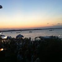 Photo taken at Edgewater Pier by John K. on 9/3/2012