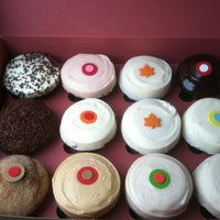 Photo taken at Sprinkles Cupcakes by Ana W. on 11/19/2011