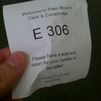 Photo taken at Palm Beach County Courthouse by Scott B. on 11/16/2011