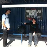 Photo taken at Pasarela Vespucio by Emanuel D. on 4/18/2012