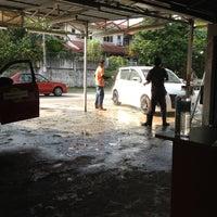 Photo taken at Car Wash & Polish by Jason L. on 2/23/2012