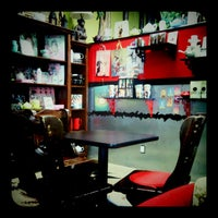 Photo taken at Atticus Coffee, Books and Teahouse by Teresa d. on 10/13/2011
