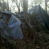 Photo taken at Hobo Hutville by Rodney T. on 1/28/2012