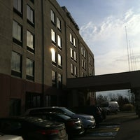 Photo taken at Hampton Carlstadt/nj by Derek on 12/31/2011