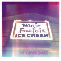 Photo taken at Magic Fountain by Ted R. on 5/31/2012