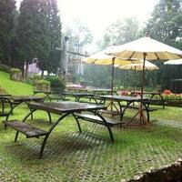 Photo taken at Doi Tung Lodge by Kanlaya P. on 8/2/2012