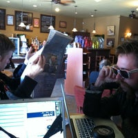 Photo taken at Mocha Lisa's Cafe by Cole W. on 3/30/2012