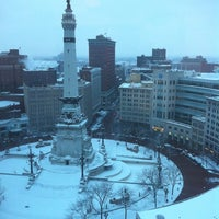 Photo taken at Sheraton Indianapolis City Centre Hotel by Adam B. on 1/12/2011