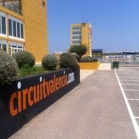Photo taken at Circuit de la Comunitat Valenciana Ricardo Tormo by Albert T. on 7/5/2012