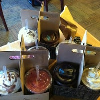 Photo taken at Caribou Coffee by Anna L. on 1/19/2012