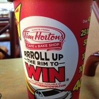 Photo taken at Tim Hortons by David C. on 3/14/2012