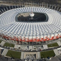 Photo taken at PGE Narodowy by Roberto V. on 6/11/2012