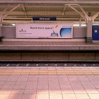 Photo taken at Gautrain Midrand Station by Thapelo C. on 8/3/2012