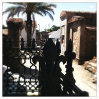 Photo taken at St. Louis Cemetery No. 1 by Kelly K. on 6/24/2012