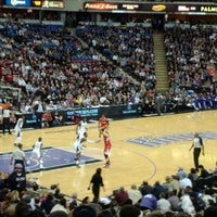 Photo taken at Sleep Train Arena by T. Aaron Carter on 3/2/2012