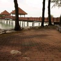 Photo taken at Jeti, Pantai Cahaya Negeri by Syed Faizal Z. on 3/15/2012
