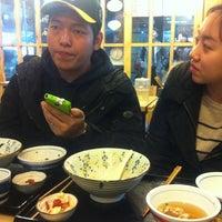 Photo taken at 돈텐동식당 by Sun Hwa J. on 2/29/2012