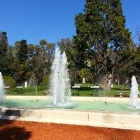 Photo taken at El Rosedal by Cristian J. on 9/2/2012