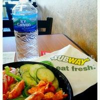 Photo taken at SUBWAY by Luisa R. on 2/27/2012