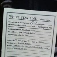 Photo taken at Titanic: 100th Anniversary Exhibit by Benjamin H. on 8/7/2012
