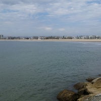 Photo taken at Marina Del Rey pier by Carlos T. on 9/8/2014
