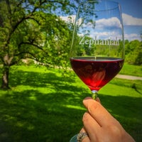 Photo taken at Zephaniah Farm Vineyard by Jim R. on 5/18/2014