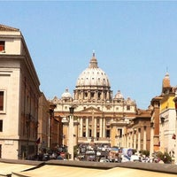 Photo taken at Vatican Museums by Marty B. on 7/9/2013
